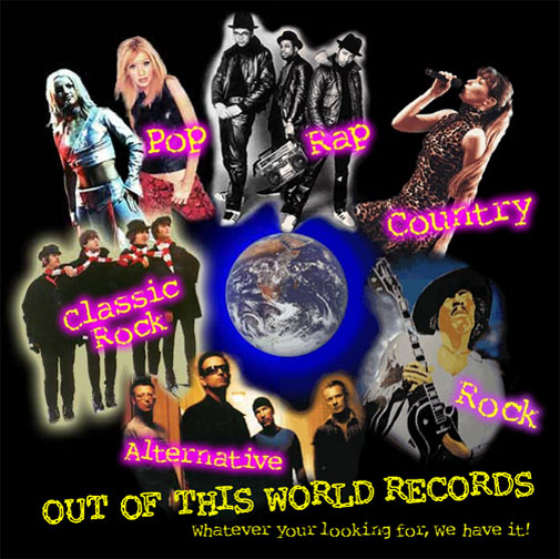 "Link to: Music store ""Out Of This World Records"", business web site"